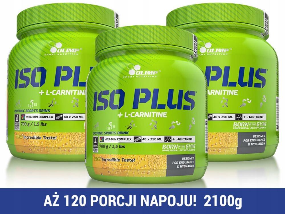 Olimp ISO PLUS 700g Napój izotoniczny ORANGE