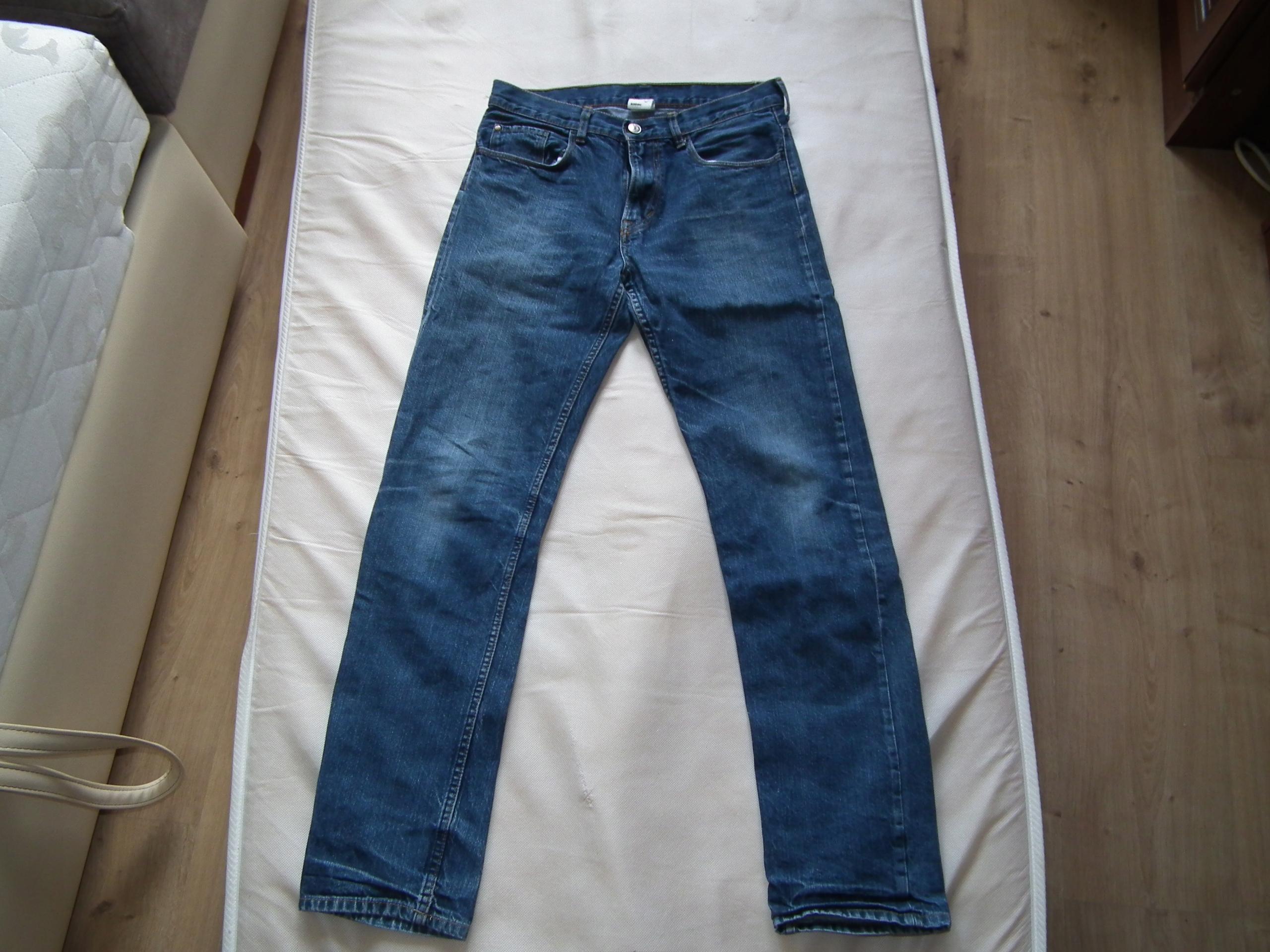 Spodnie jeansowe r. 170 (H&M)