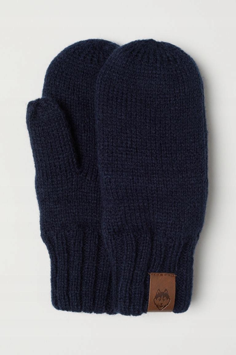 H&M Rękawiczki z jednym palcem rozm.122/128cm