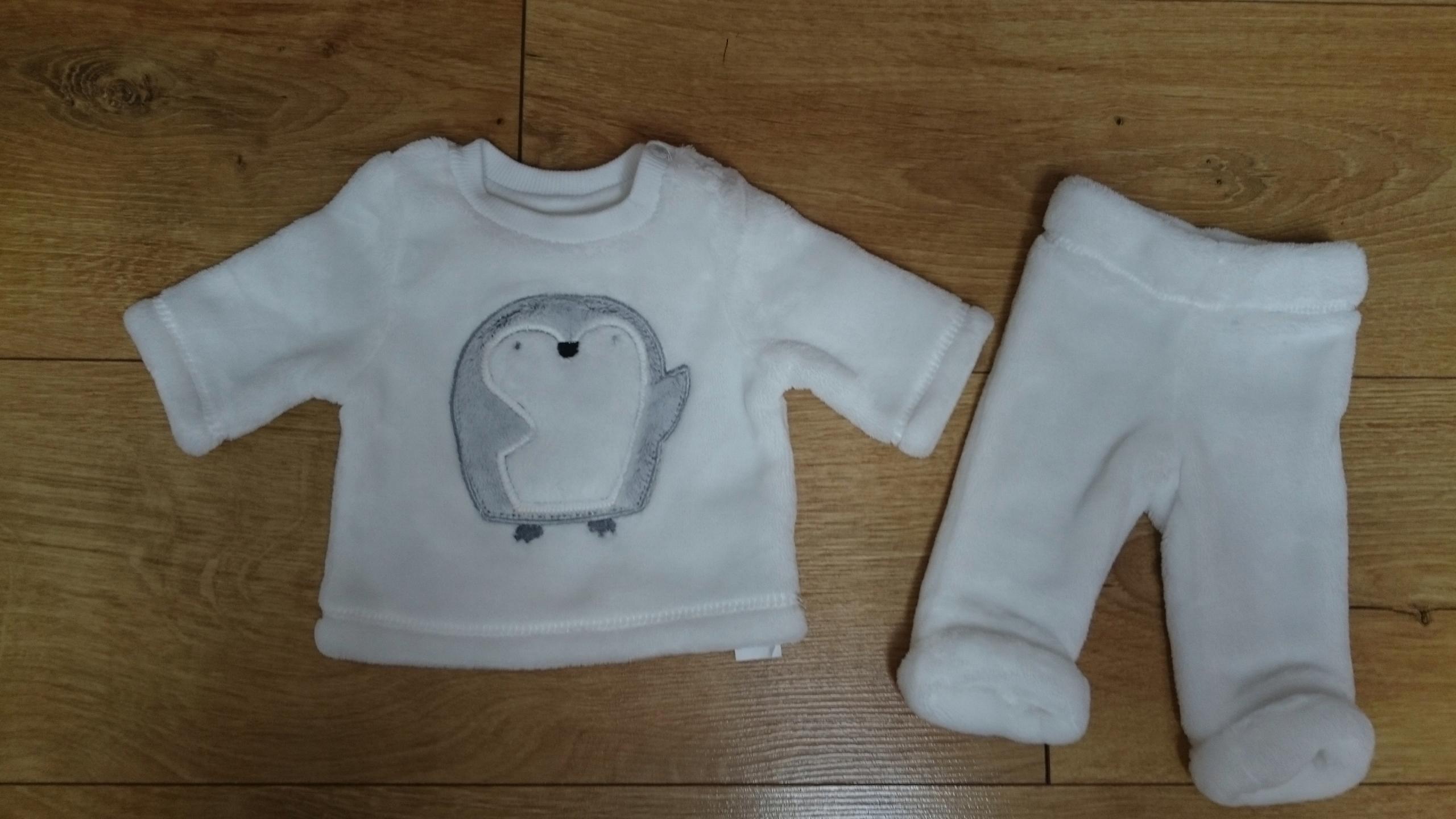 F&F komplet niemowlęcy 50 cm