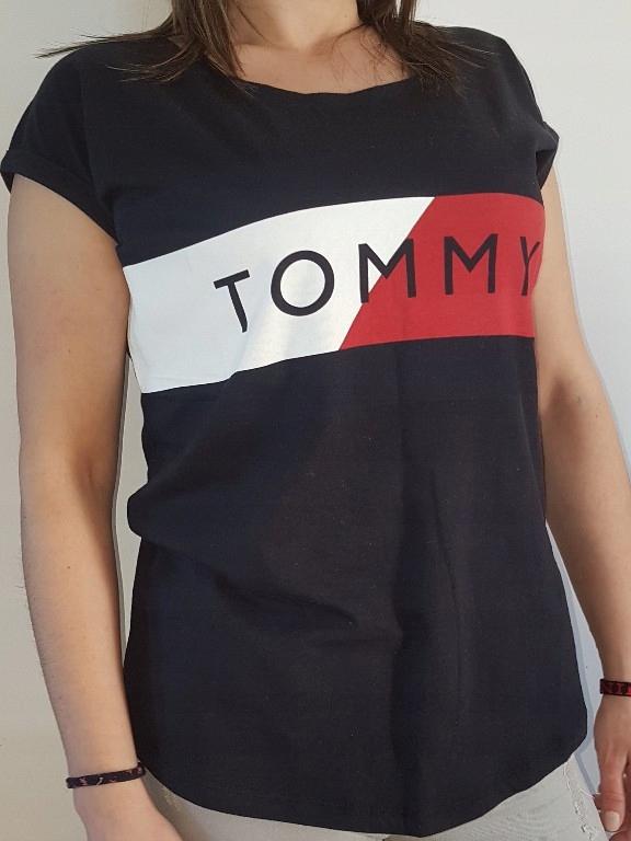 TOMMY HILFIGER BLUZKA tshirt DAMSKI Rozmiar XL