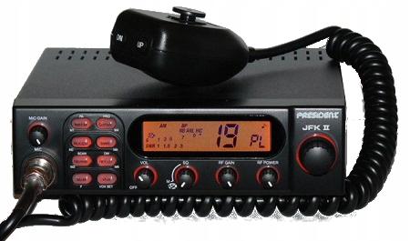 PRESIDENT JFK II ASC RADIO CB SWR + FLORIDA EXPORT