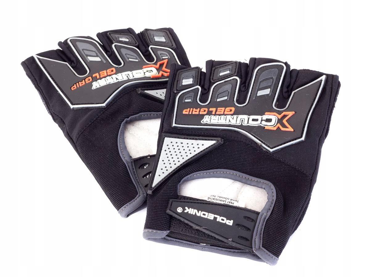 Rękawiczki rowerowe X-COUNTRY kolor czarny L