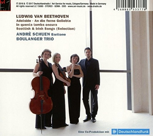 CD Schuen, Andre - Beethoven, Irish And Scot Boula