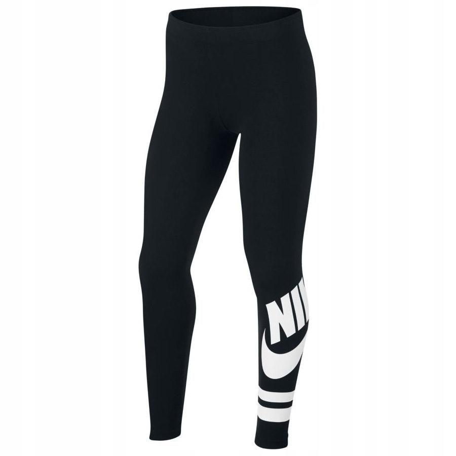 Legginsy Nike Sportswear 939447 010 r. 137-147cm
