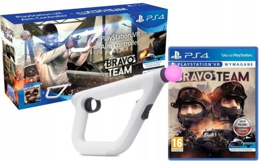 Sony Gra PS4 Bravo Team + Aim Controller Kontroler