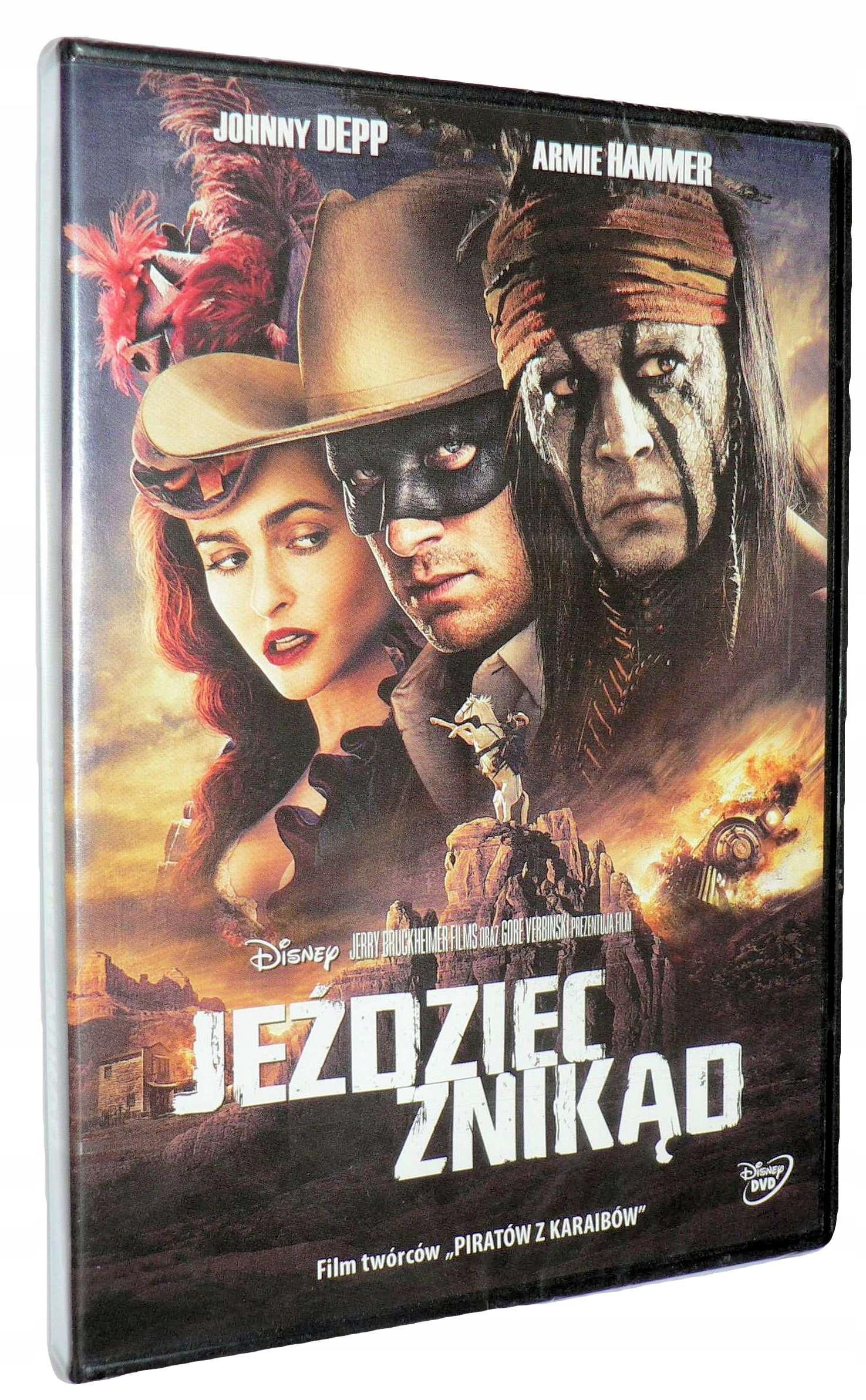 DVD - JEŻDZIEC ZNIKĄD- J.Depp nowa folia dubbing