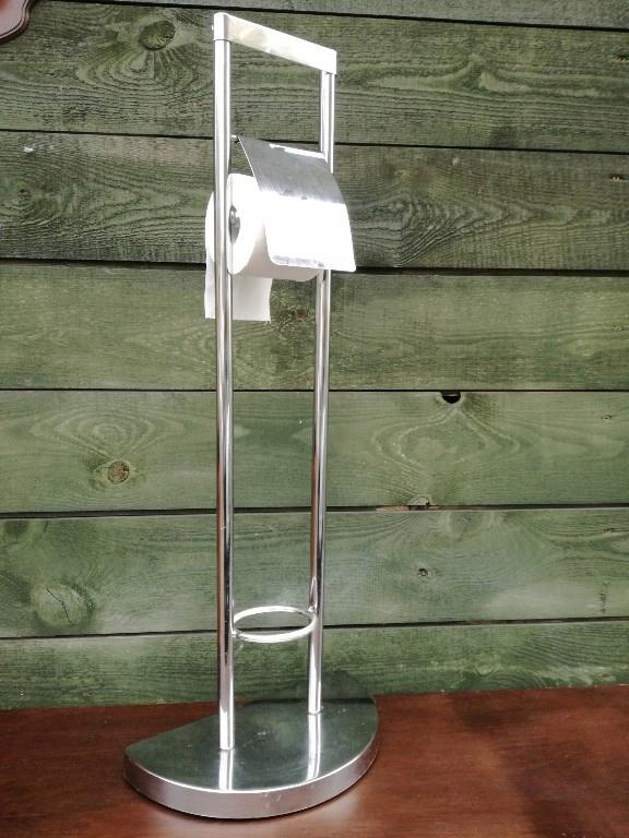 Stojak łazienkowy uchwyt na papier
