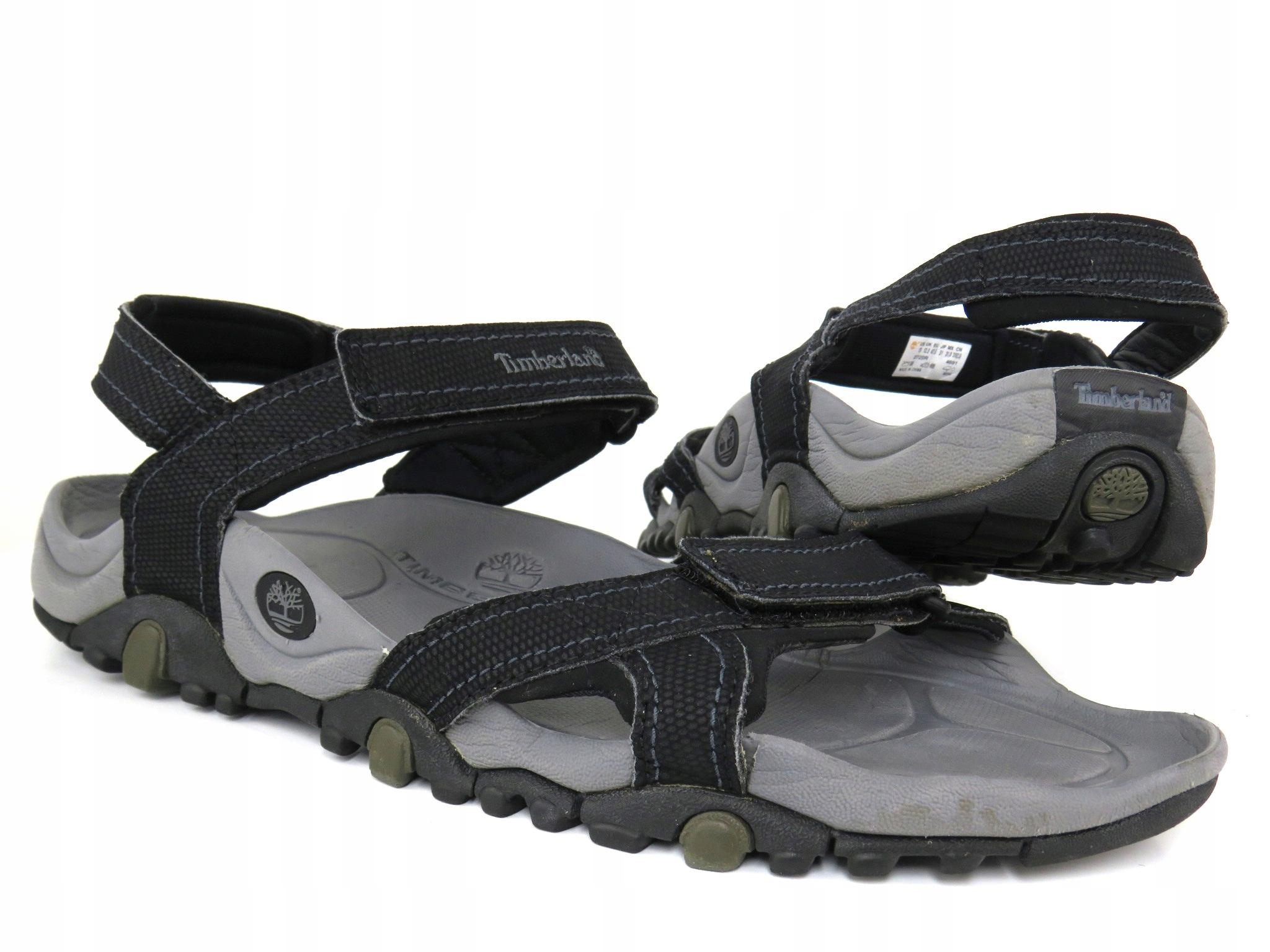 Marka Moda Buty Męskie Sandały Timberland Granite Trailray