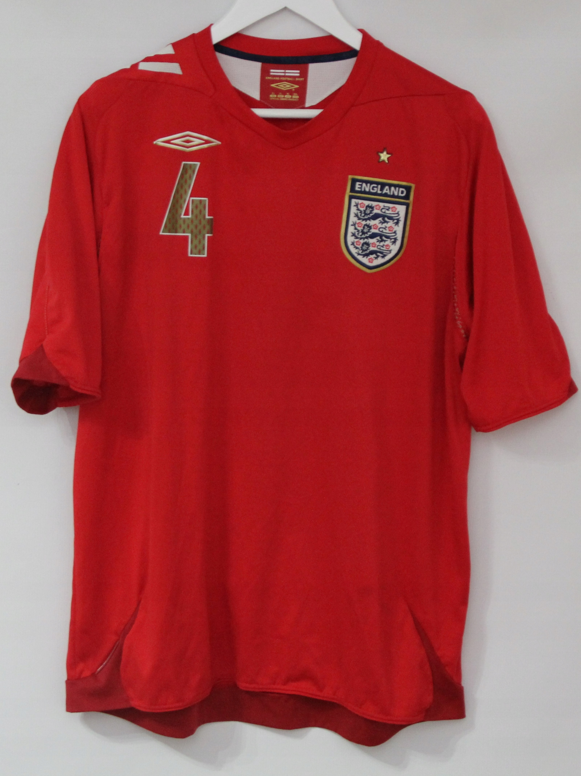 Koszulka Umbro Reprezentacja Anglii 4-GERRARD