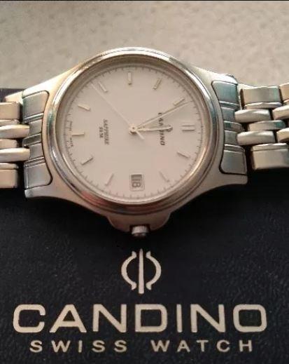 Zegarek CANDINO Swiss Watch SAPPHIRE Kwarc