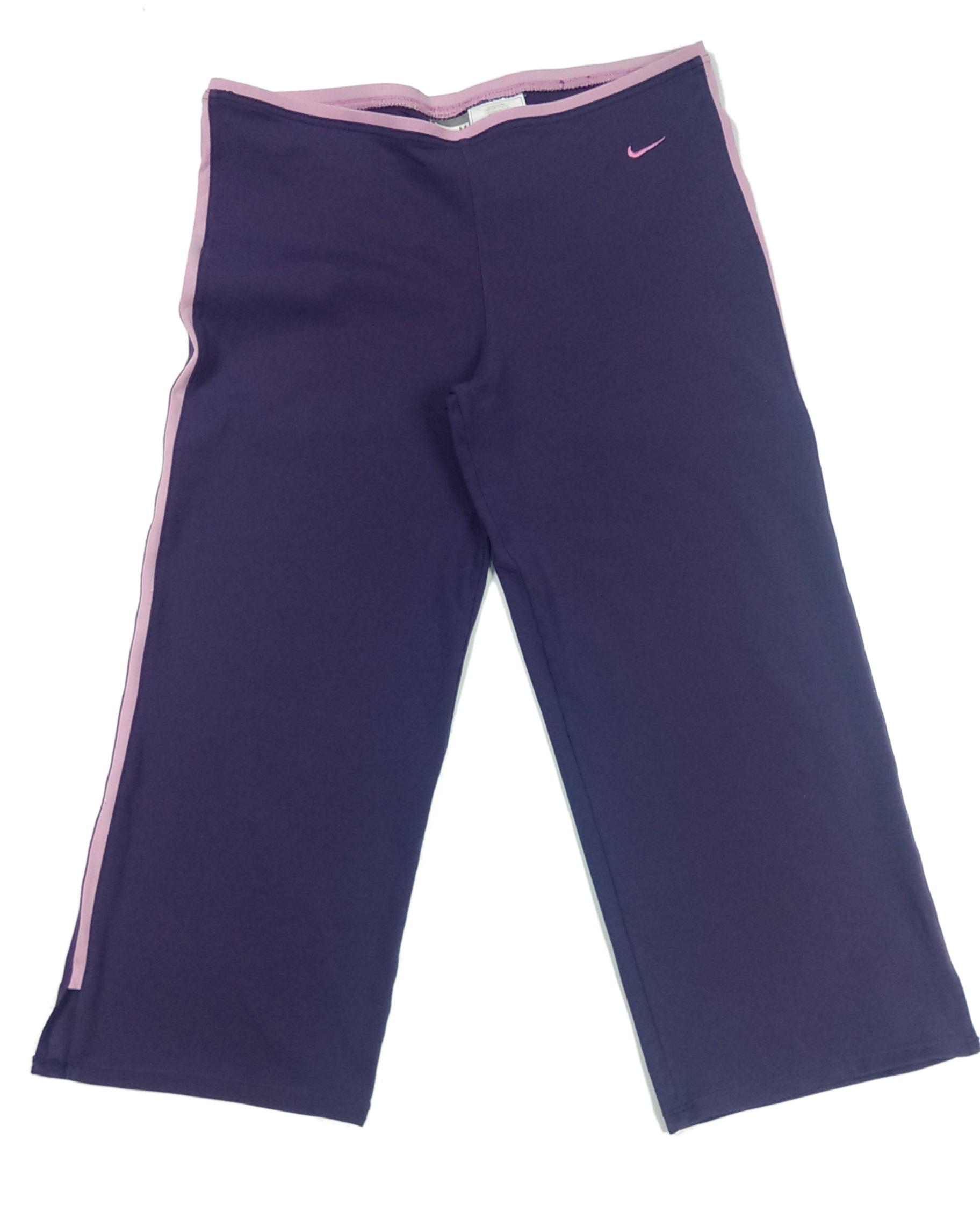 Nike spodnie dresowe krótkie fioletowe 38/40 M