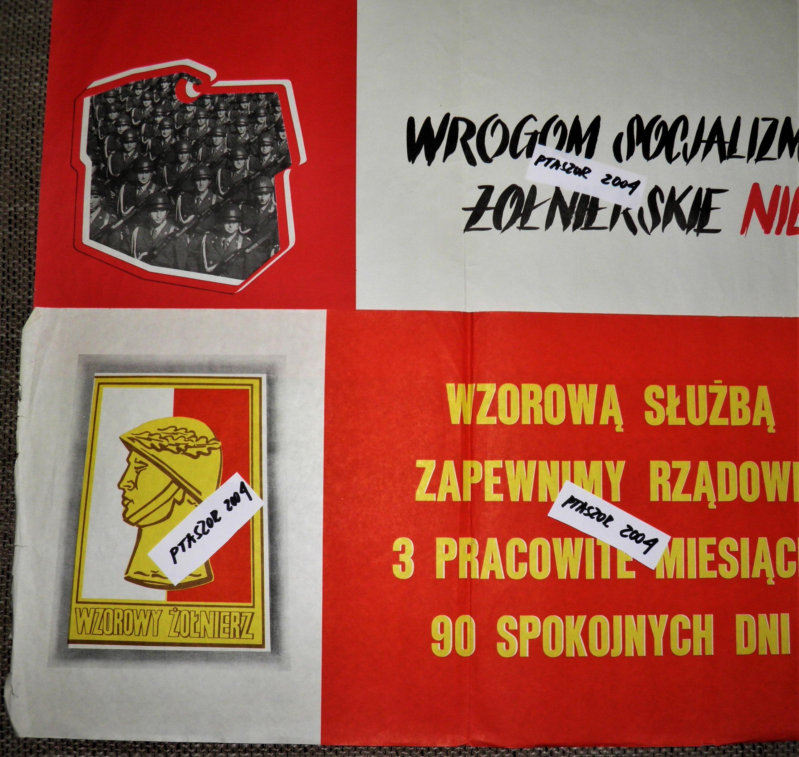 Plakaty Propagandowe Prl Lwp Początek Lat 80 8086449647
