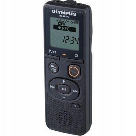Olympus Digital Voice Recorder VN-541PC Black, WMA