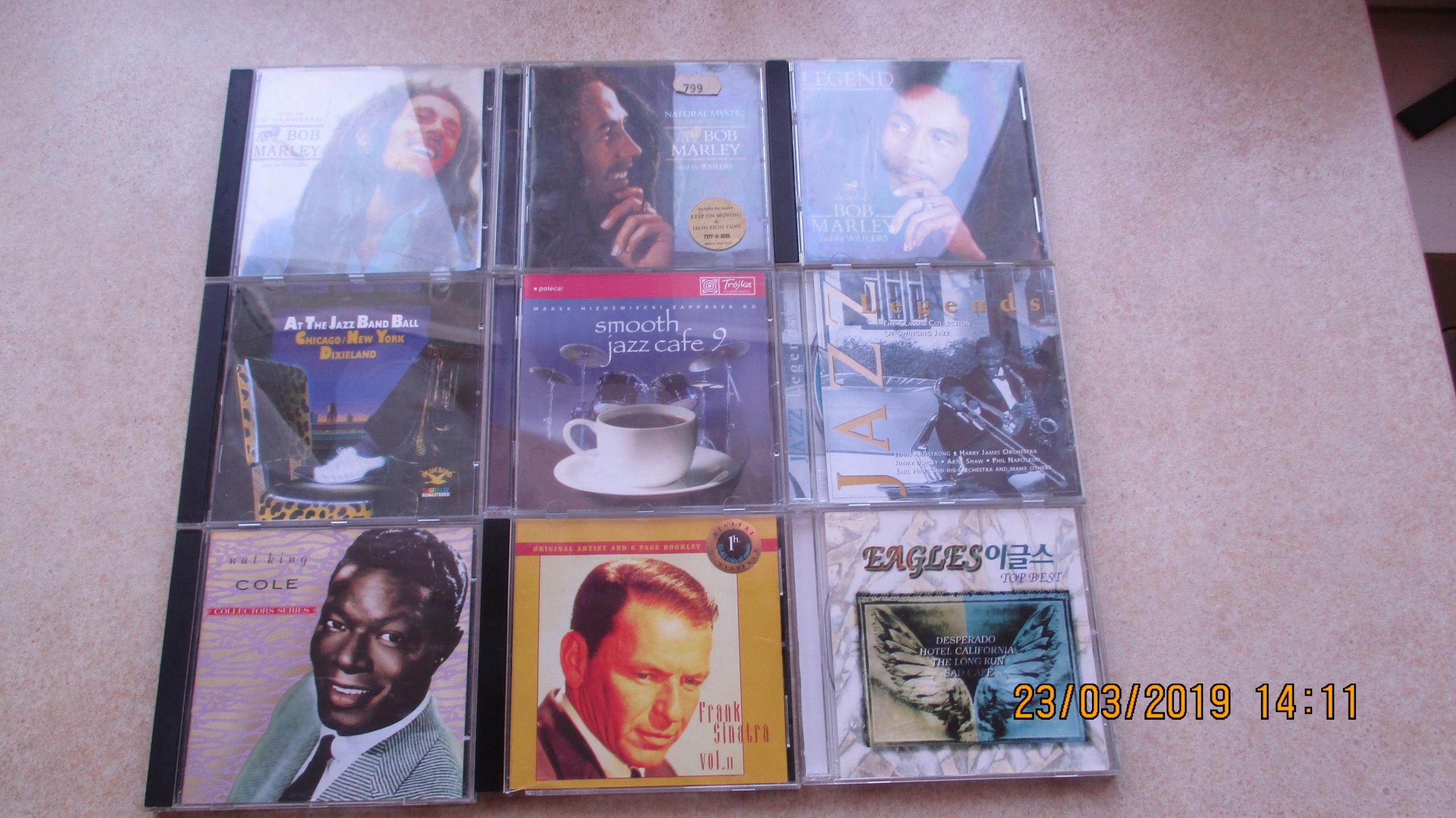 PAKIET MUZYKI RETRO- 23 CD - JAZZ,BLUES,ROCK,SOUL