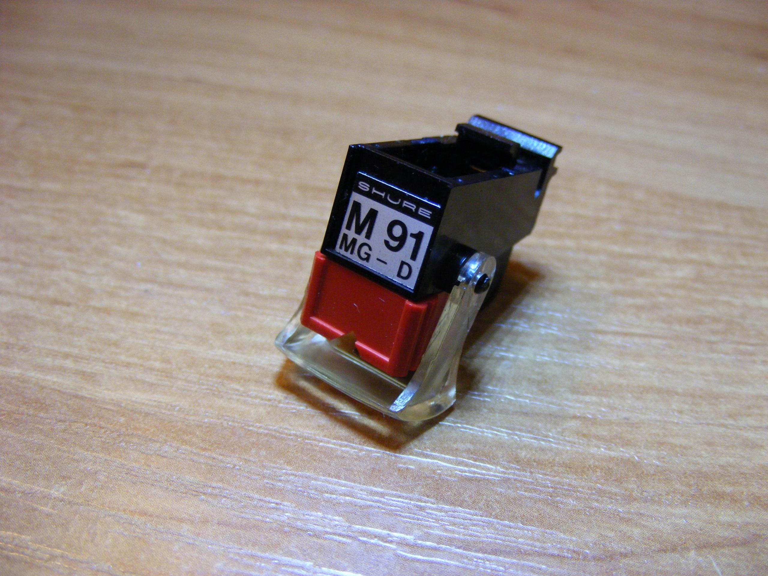 Wkładka gramofonowa SHURE M91MGD