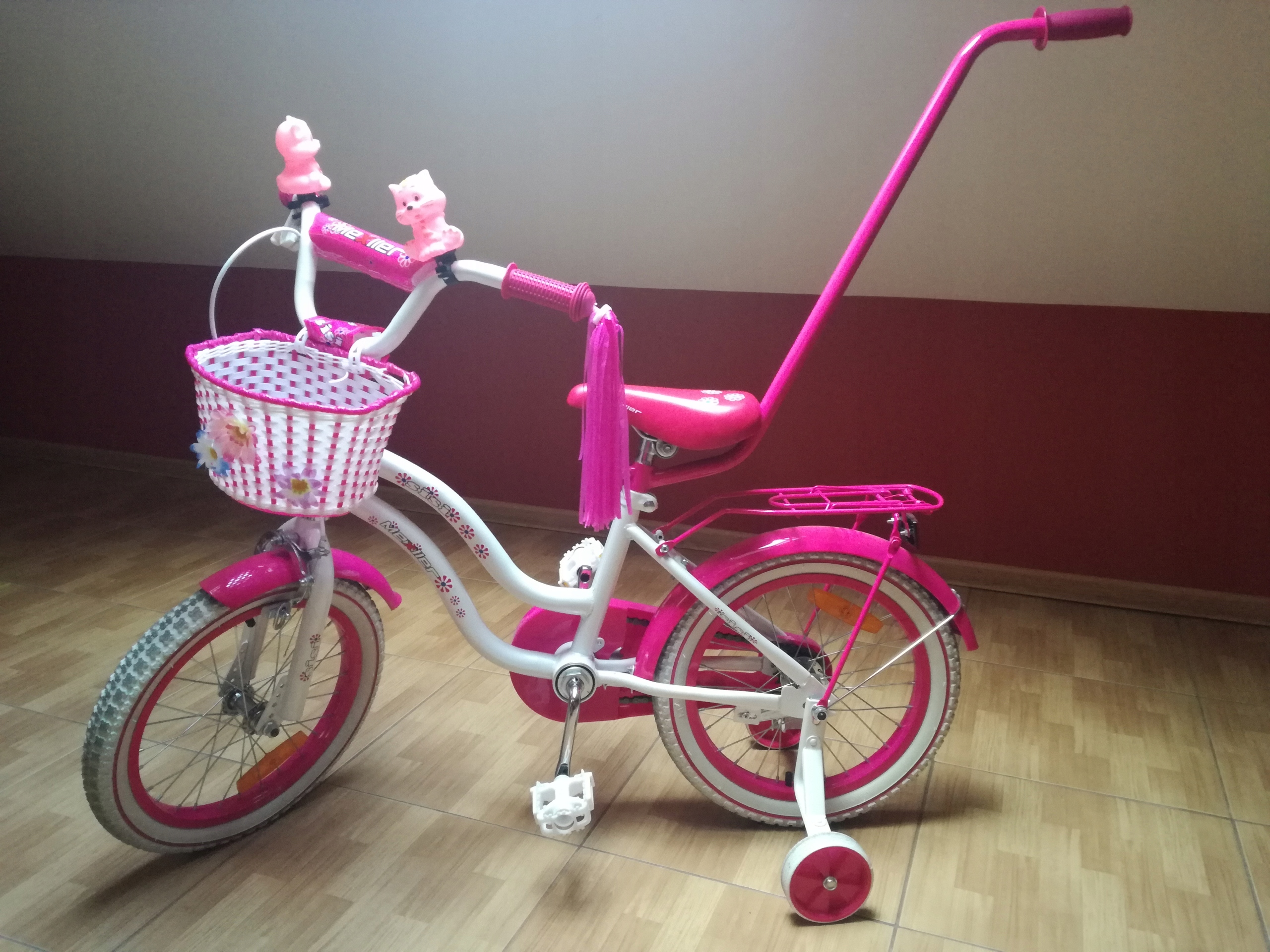 Super okazja! Rowerek dla dziewczynki SiSi Mexller