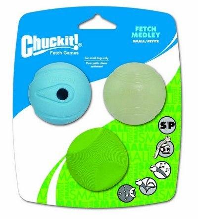 Chuckit Fetch Medley Small 3pak [205101]