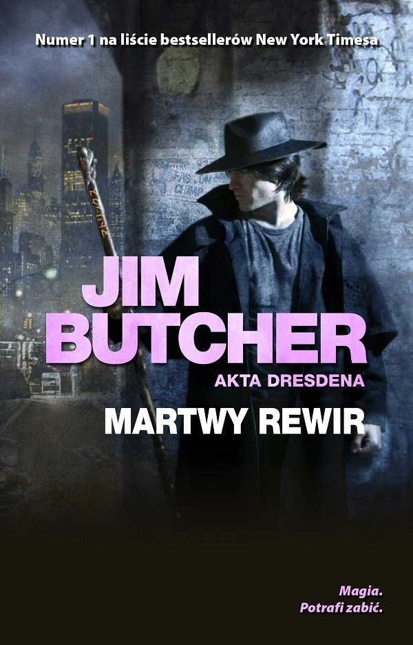 Martwy rewir Jim Butcher