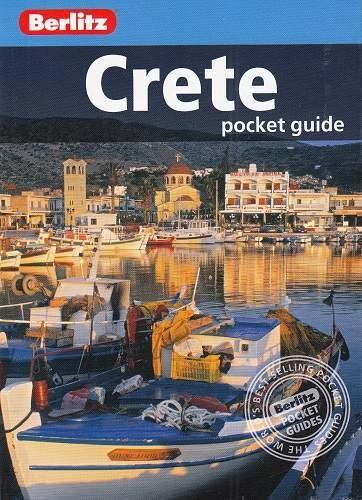 KRETA Grecja przewodnik Berlitz Crete 2015