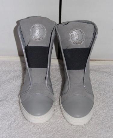Botki sneakersy szare 40 roberto ryłko badura sbut