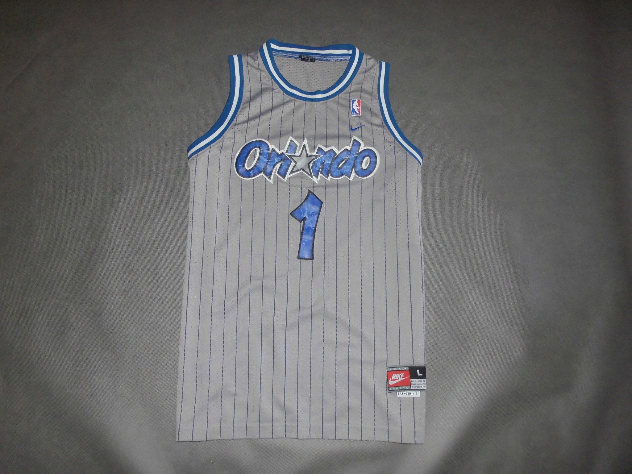NBA_ORLANDO MAGIC_McGRADY NR.1_NIKE_L_1995