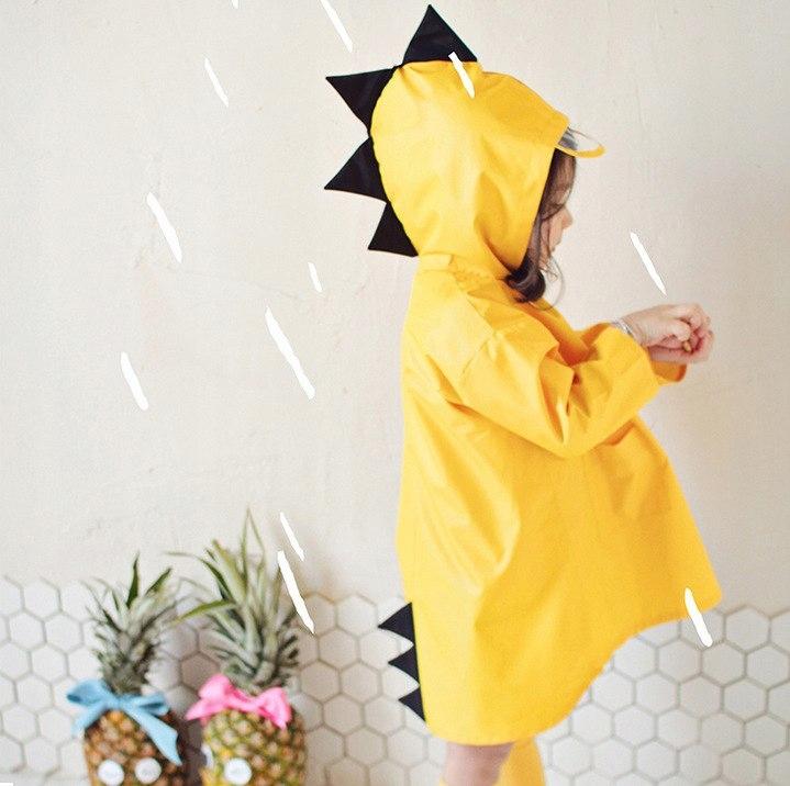 Płaszcz przeciwdeszczowy peleryna ponczo żółty XXL