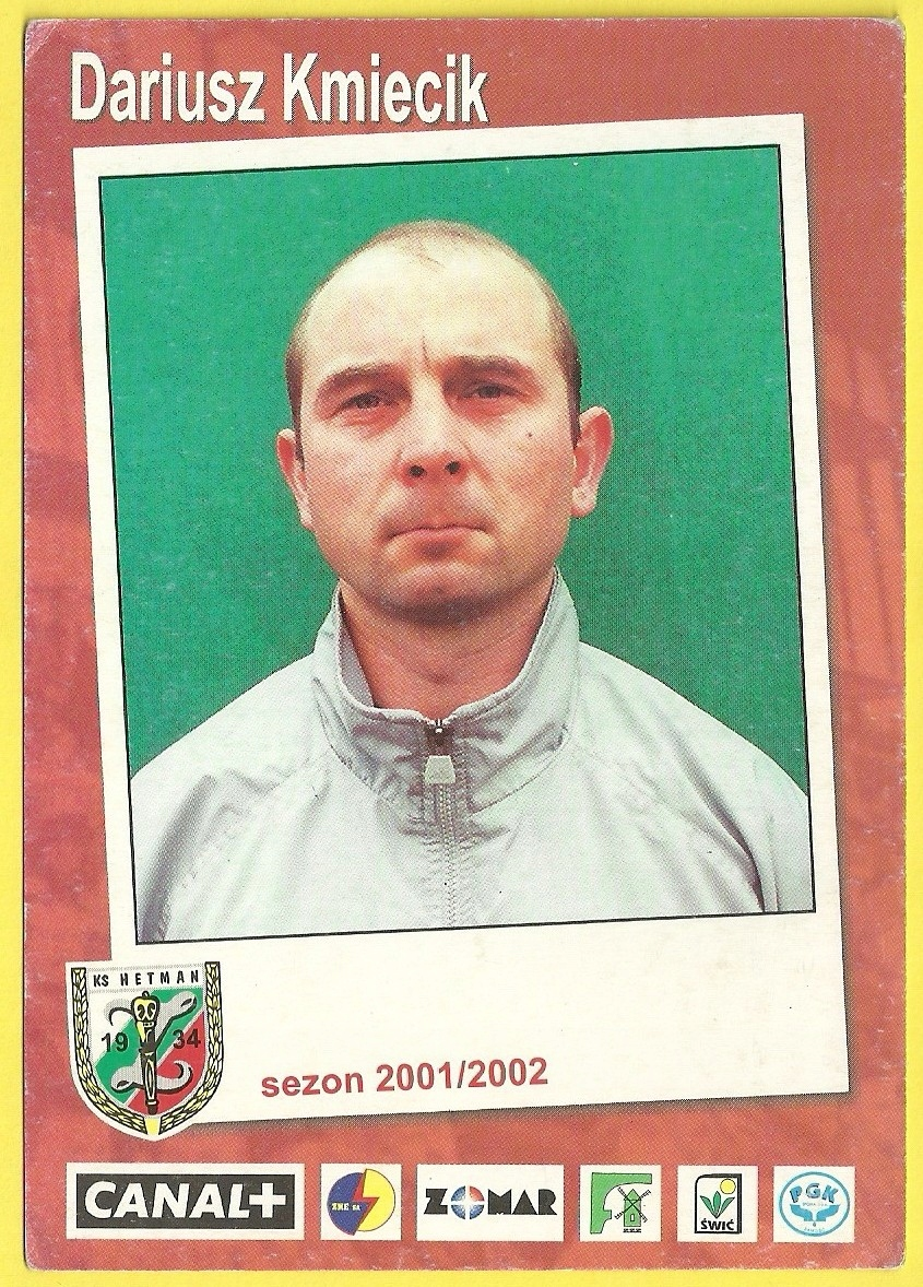 Dariusz Kmiecik Hetman Zamość sezon 2001/2002