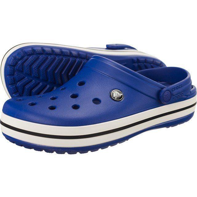 Klapki Męskie Crocs Crocband niebieski M9 42-43