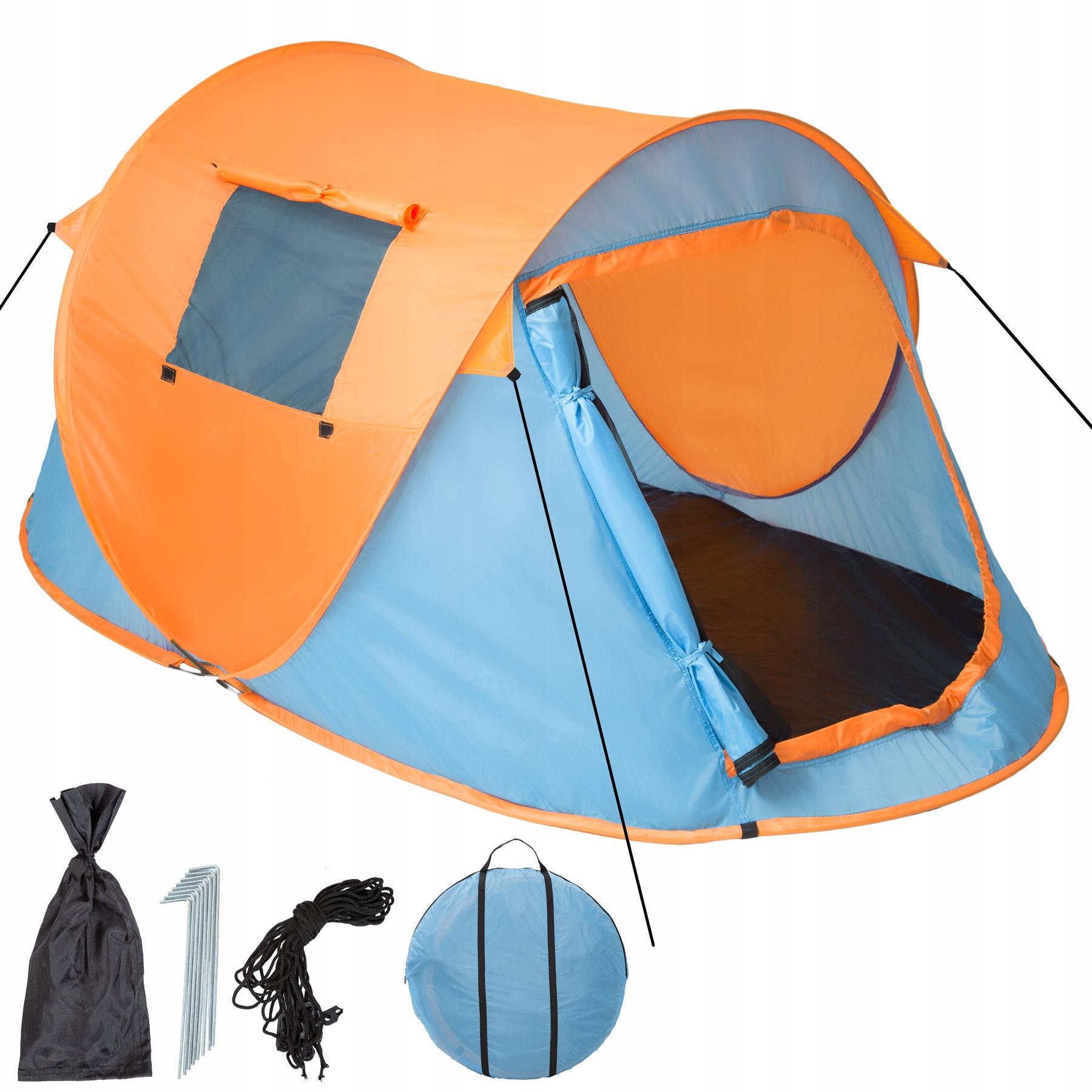 Samorozkładający namiot turystyczny 2 osob. 401674
