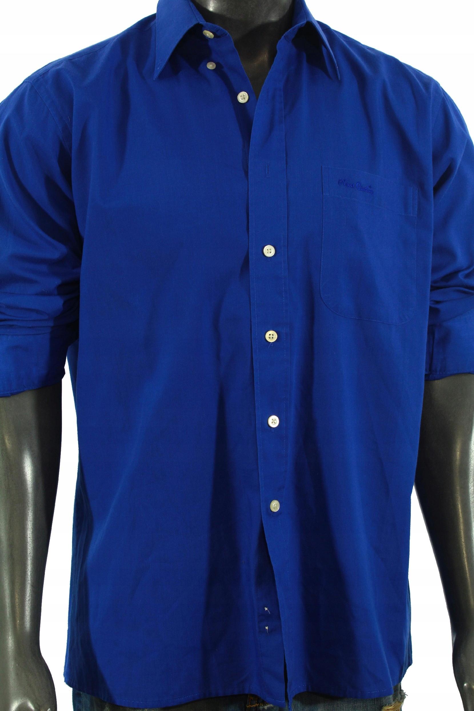 PIERRE CARDIN Koszula logowana stylowa! 39 XL