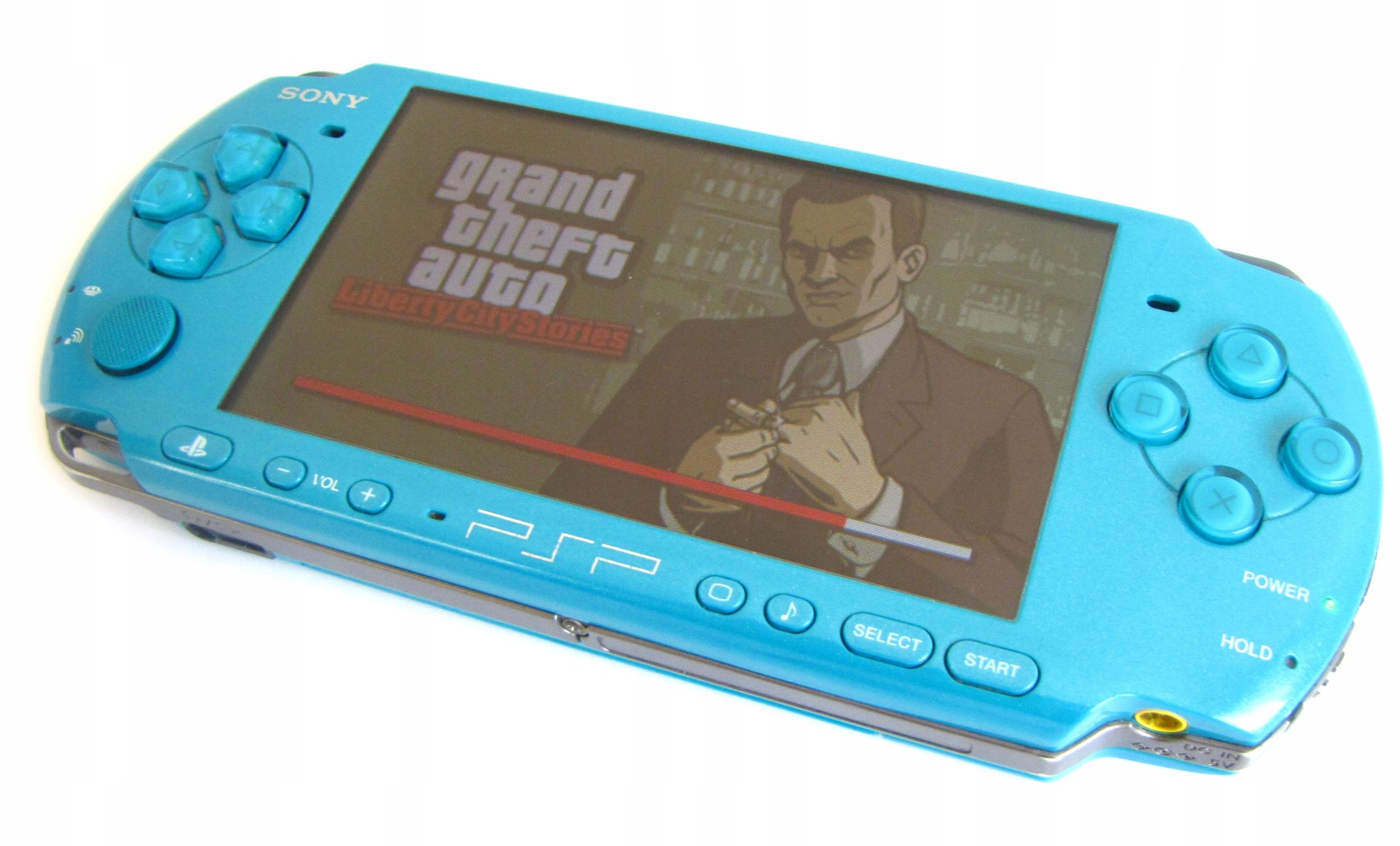 KONSOLA PSP 3004 KARTA 16GB GRY MINECRAFT WIFI