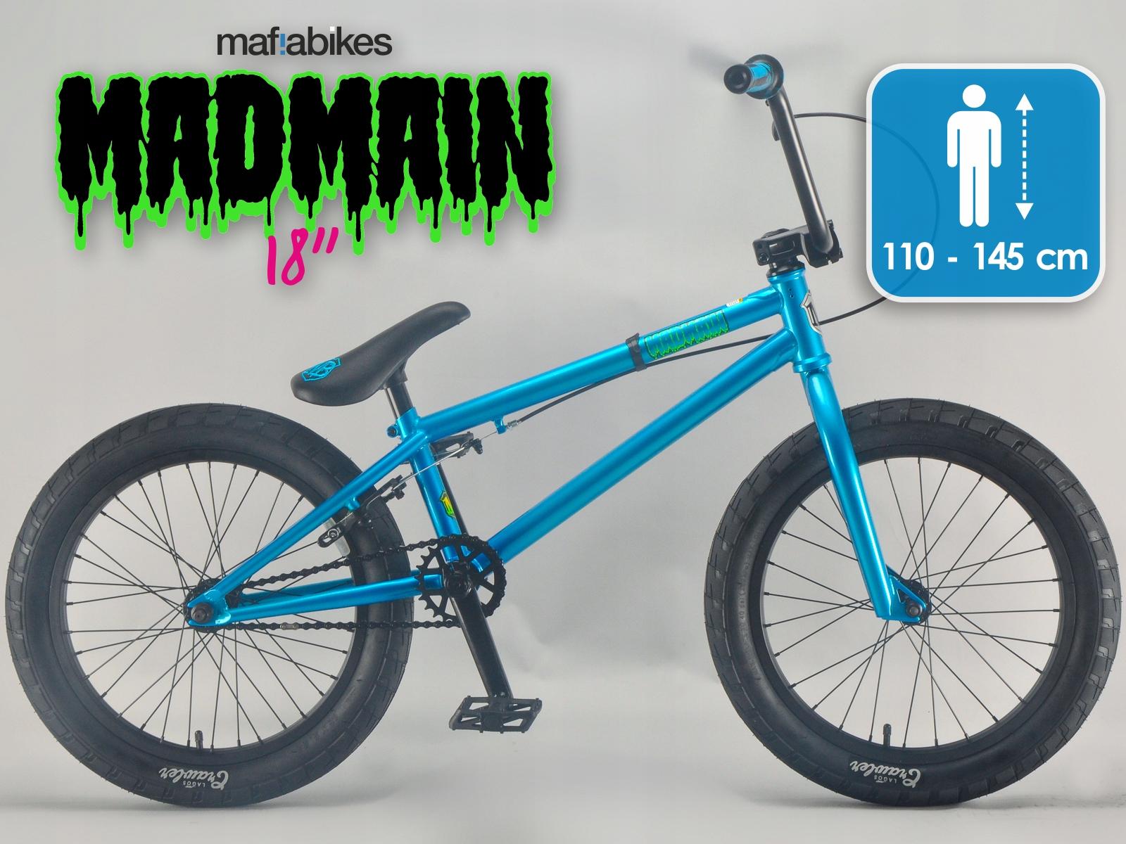 "Rower BMX 18"" MAFIA MADMAIN Harry Main TEAL"
