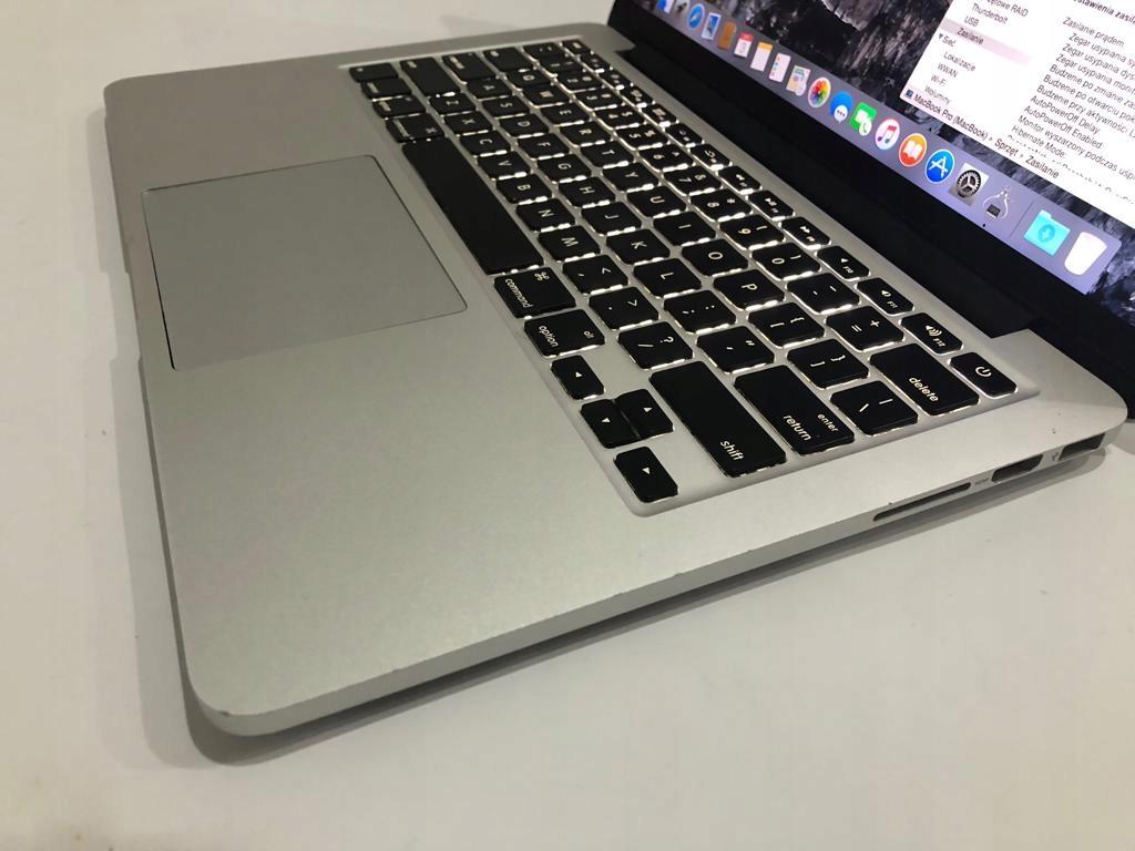MacBook Pro 13 Retina i5 2x2.5GHz 8GB 120GB S2