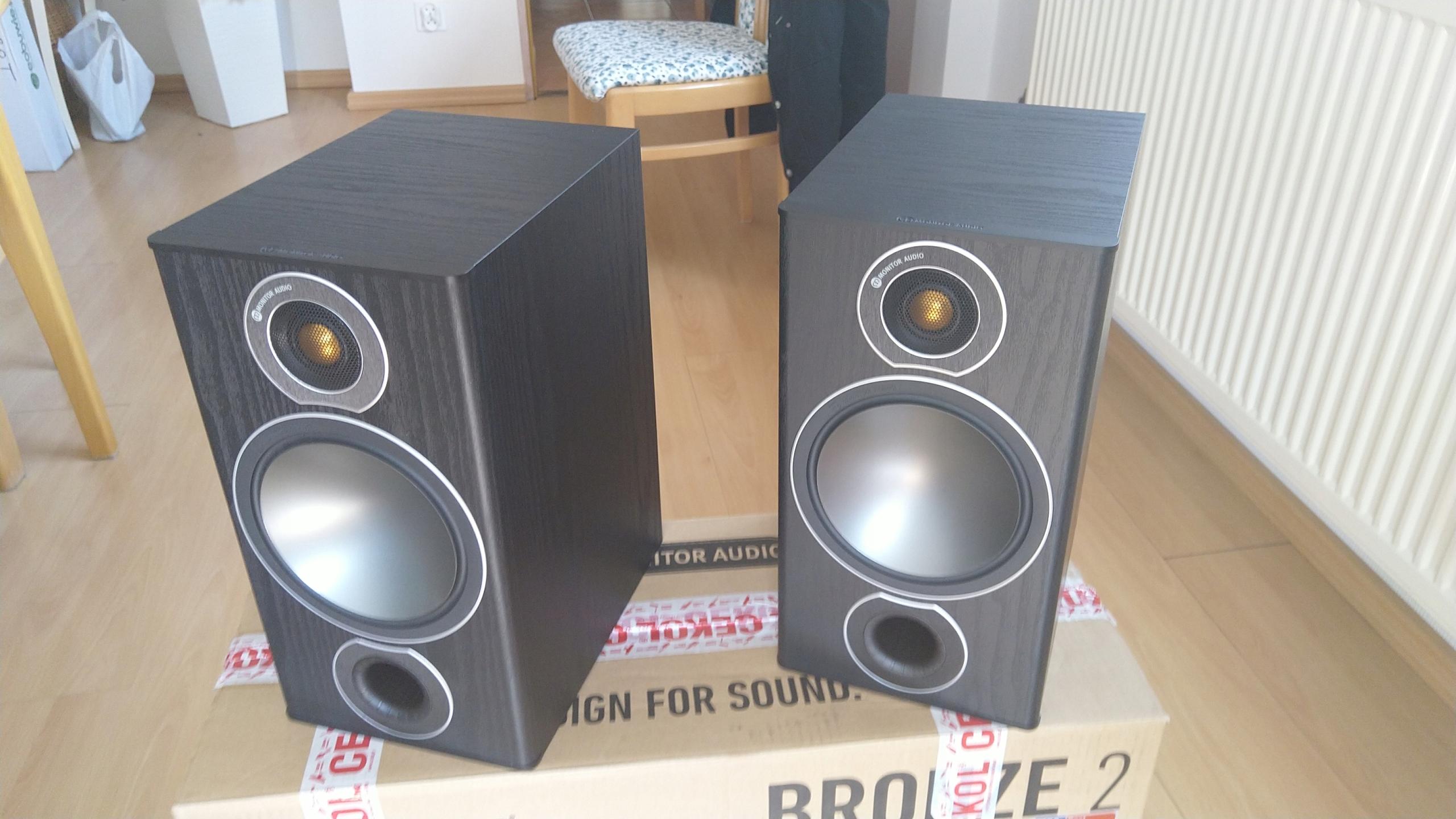 Monitor Audio Bronze 2 jak nowe para
