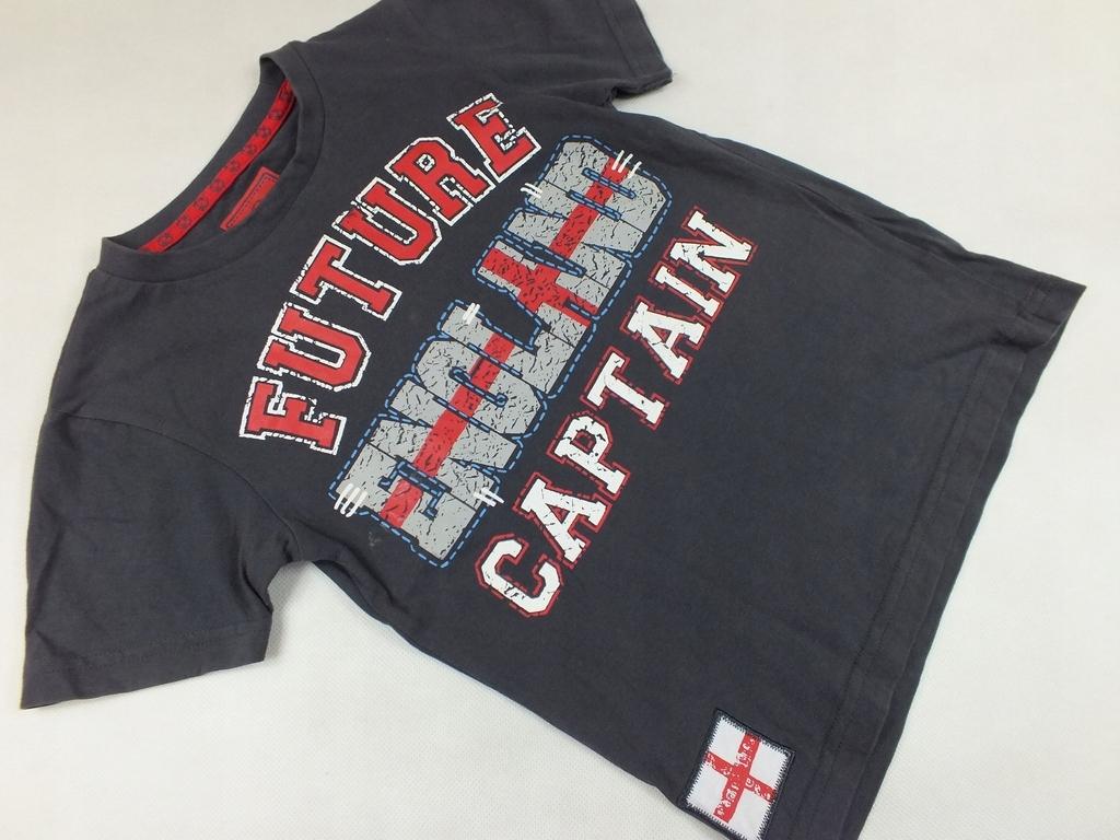 TU bawełniana koszulka future captain 104-110