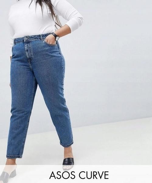 Jeansy / mom jeans rozm. 56 58 / ASOS
