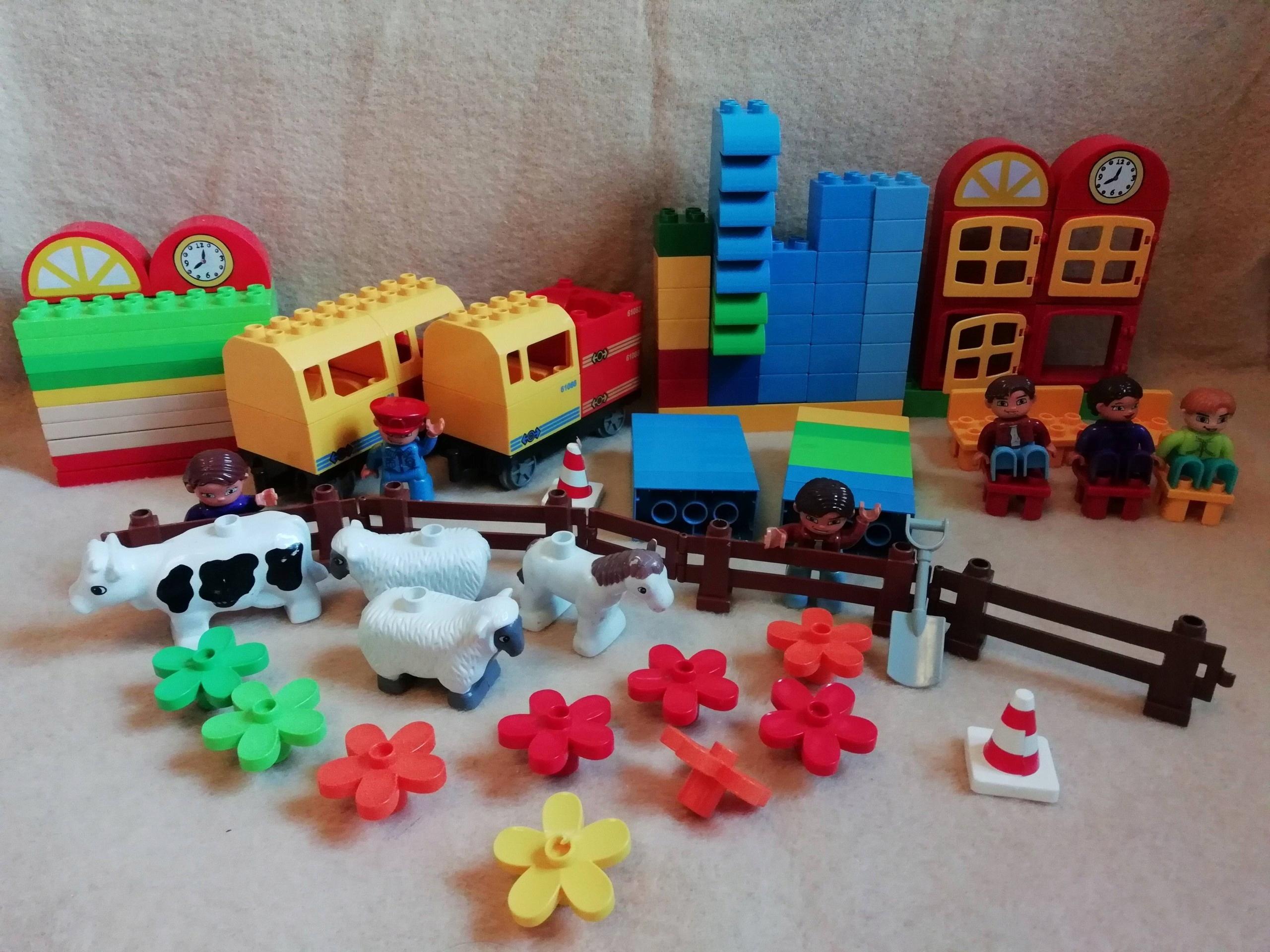 Klocki Podstawowe Jak Lego Duplo Kompatybilne 7432562584