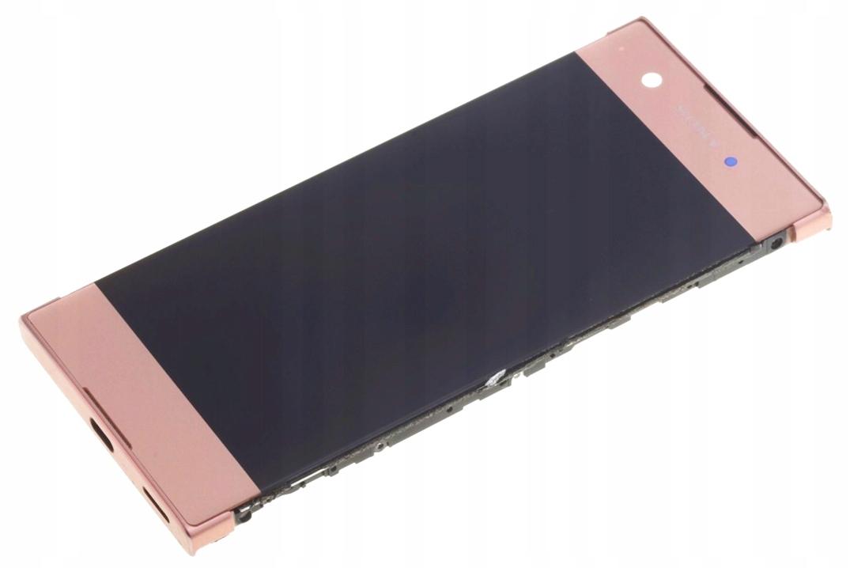SONY ORYGINALNY WYŚWIETLACZ LCD XPERIA XA1 RÓŻOWY