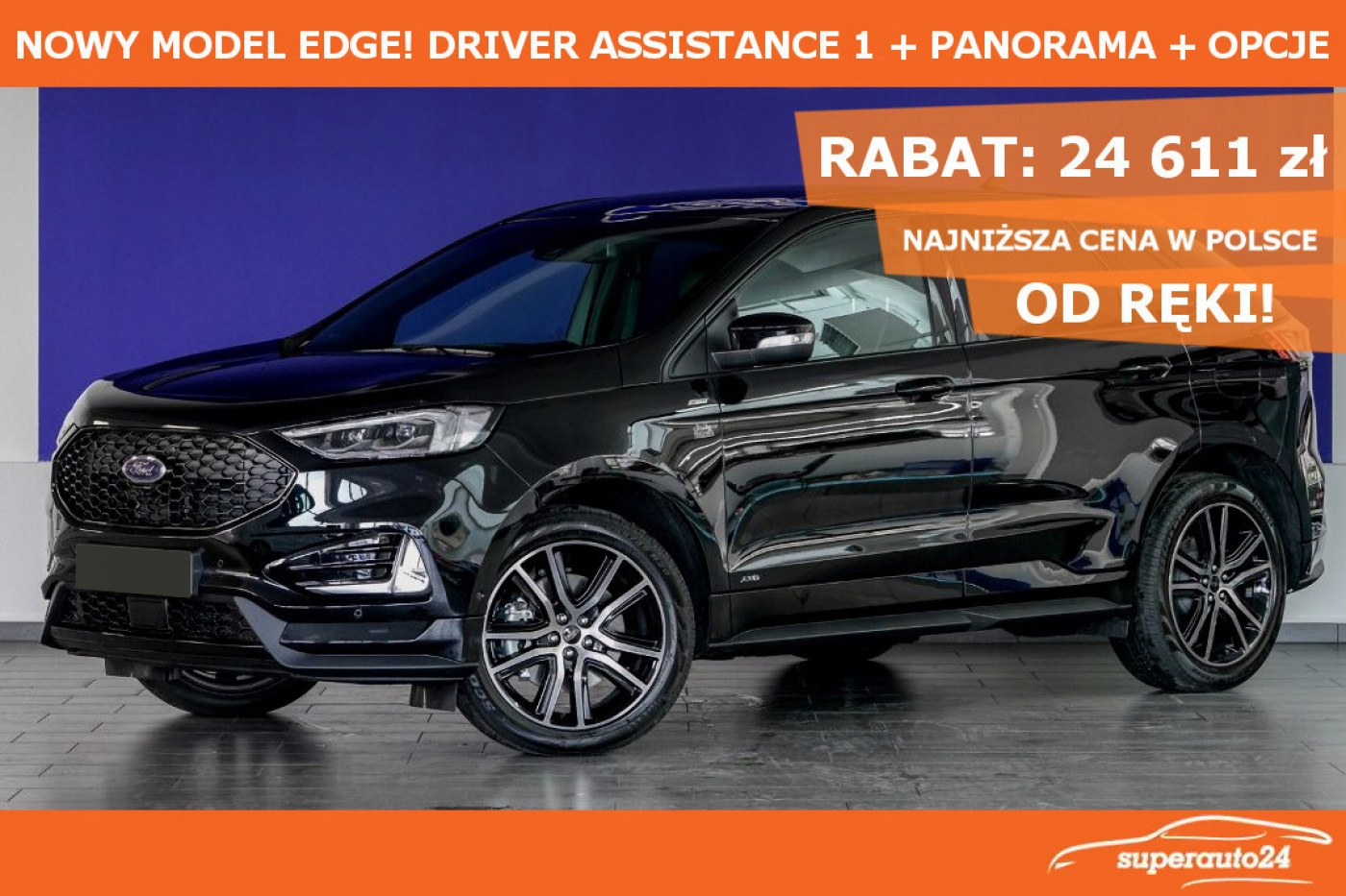 Ford Edge 2.0 EcoBlue 238KM Twin-Turbo A8