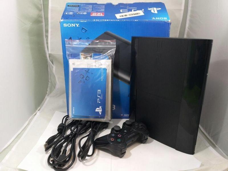 SONY PLAYSTATION 3 SUPER SLIM PS3 12GB ZESTAW!!