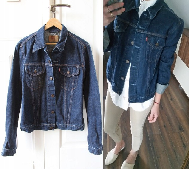 18b9e72e1 kurtka jeansowa KATANA LEVI'S S M 36 38 - 7452694600 - oficjalne ...