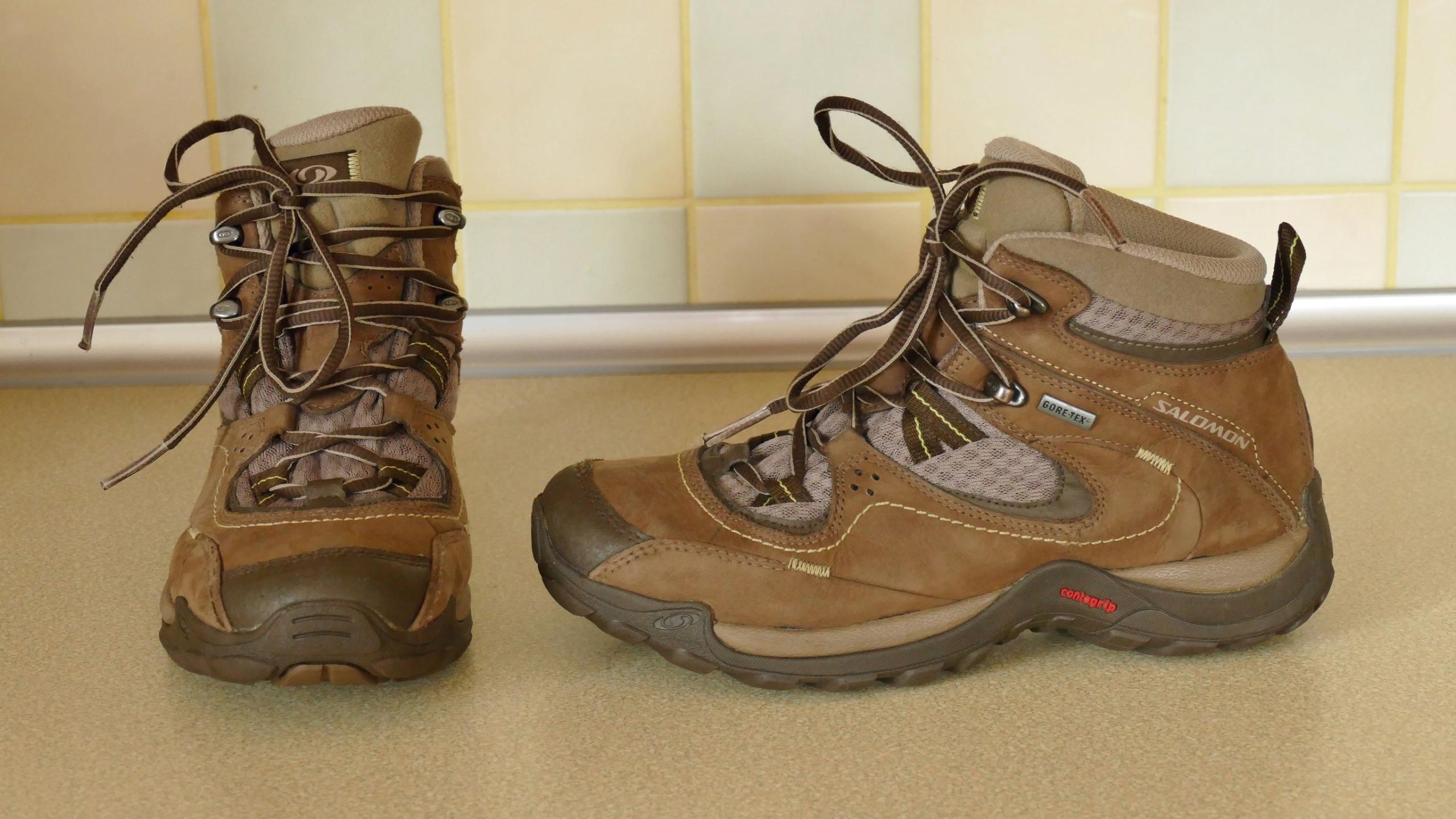 Salomon buty trekkingowe górskie rozm 38 23,5cm
