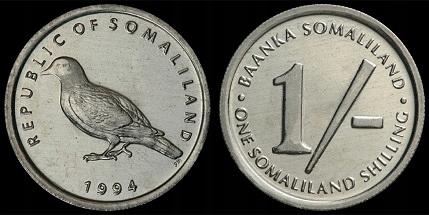Somaliland 1 szyling 1994