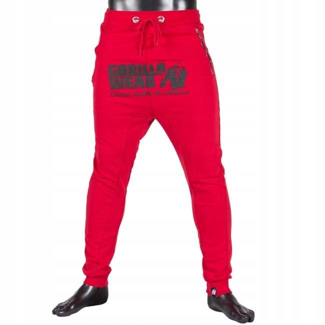 48d3a678774ee2 Spodnie unisex Gorilla Wear Alabama Czarne M - 7673025207 ...