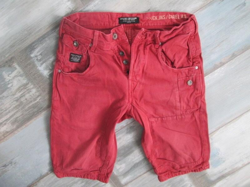 JACK JONES___spodenki bermudy MĘSKIE jeans__38 M