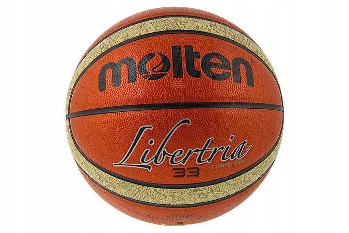 Piłka Molten Libertia 33 Competition pomarańczowy