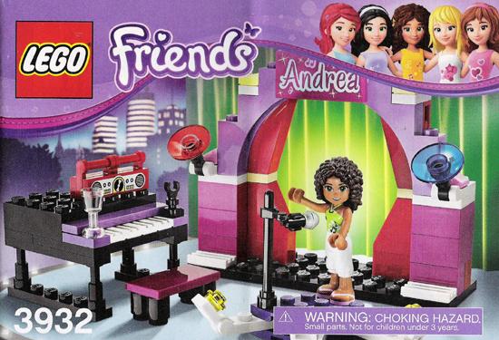 LEGO FRIENDS 3932 Sala koncertowa Andrei