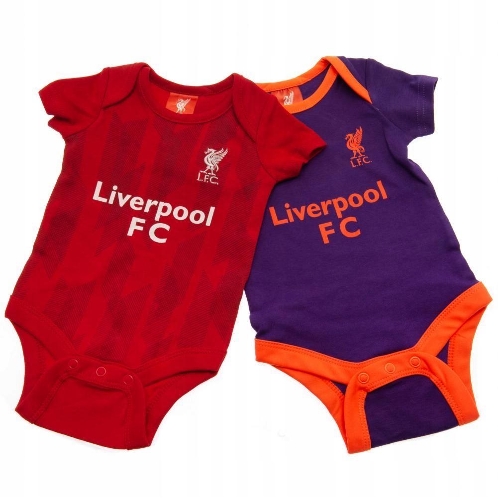Liverpool F.C. 2 Pack Bodysuit 3/6 mths PL