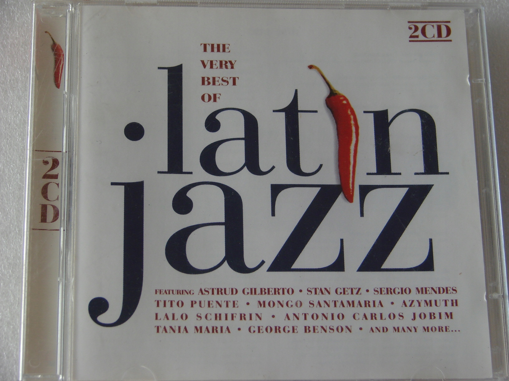 The very best of latin jazz 2xCD UK BDB